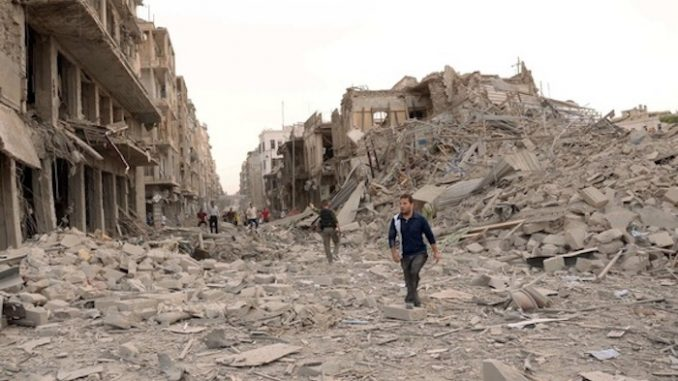 UN urged to force USA to pay for destruction of Syria
