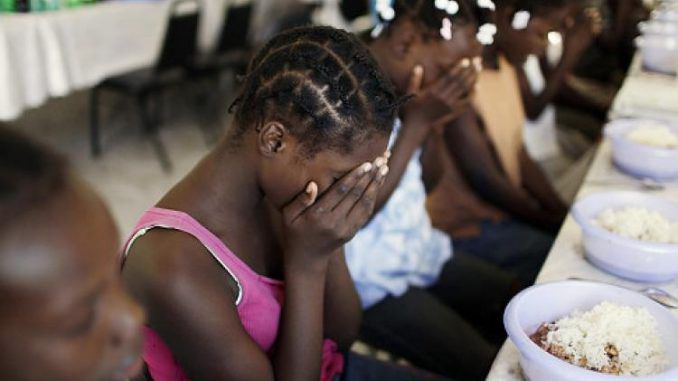 Child sex slaves rescued in Haiti