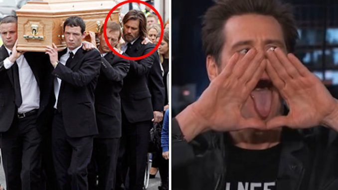 Jim Carrey framed for manslaughter of girlfriend after he exposed the New World Order on live television