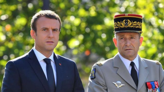 """French chief of armed forces Pierre de Villiers has resigned with immediate effect, claiming that President Macron was trying to """"f**k"""" him."""