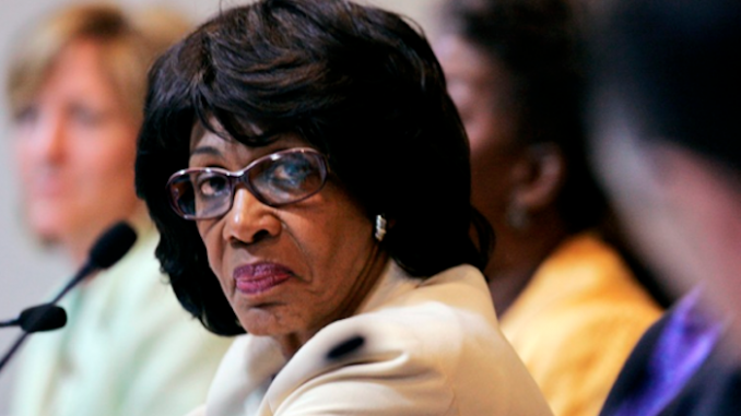 Maxine Waters hints that she's willing to break the law in order to fight Trump