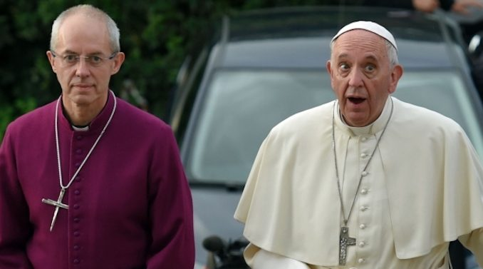 "Vatican police raided a ""drug fueled gay orgy"" at the home of one of Pope Francis's key advisers, according to reports from Italy."