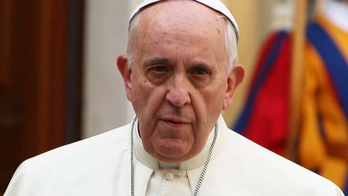 "Pope Francis said that the U.S. has ""a distorted vision of the world"" and Americans must be ruled by a world government ""for their own good."""