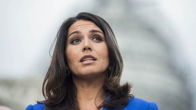 Rep Tulsi Gabbard says US is obsessed with regime change and created Al-Qaeda