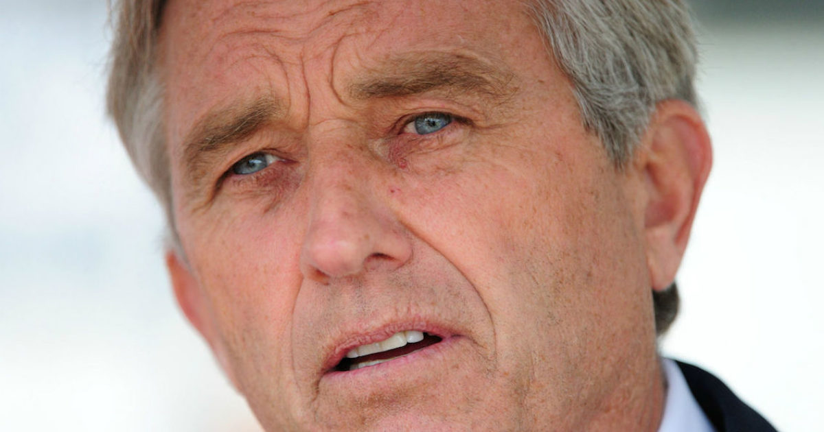 The government is covering up vaccine deaths in order to protect pharmaceutical companies, according to Robert F. Kennedy Jr.