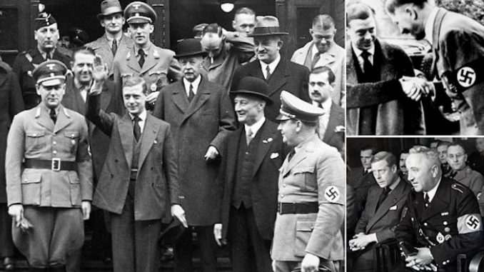 Winston Churchill covered up the documents fearing the British people would overthrow the Royal Family if they found out the truth.