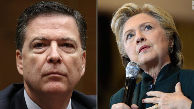 House Conservatives have launched a probe gunning for the investigation and prosecution of James Comey and Hillary Clinton.