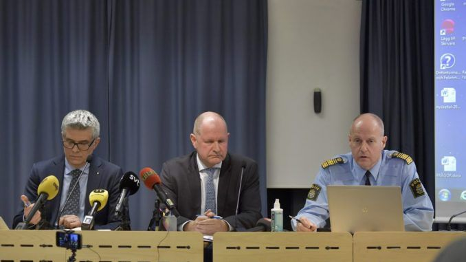 Sweden's Police Commissioner says the country needs help in dealing with Islamic Militias
