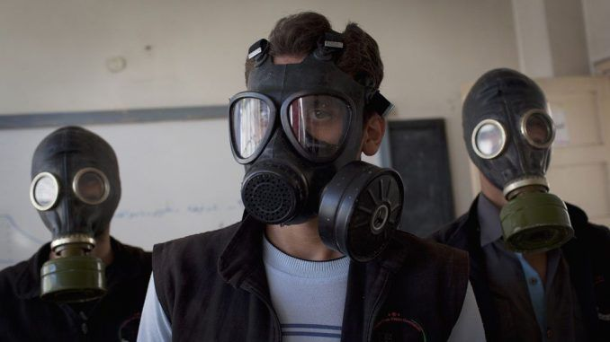 Syrian army accused of chemical attack against rebels