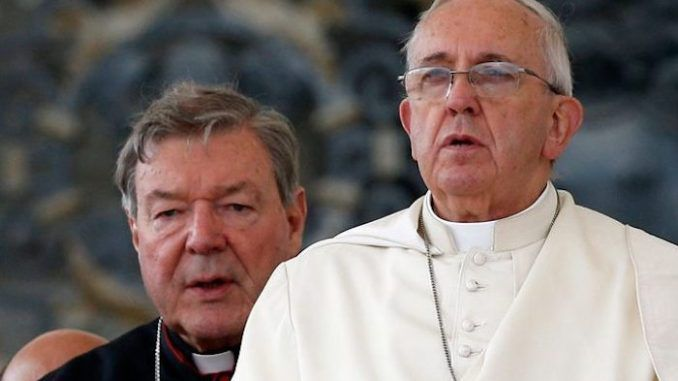 Vatican admits that Cardinal Pell is just one out of 8000 pedophile priests who belong to the Church