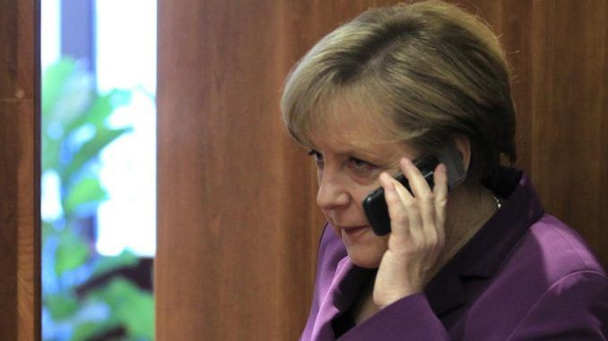 Merkel threatens to retaliate against Trump over Russia sanctions