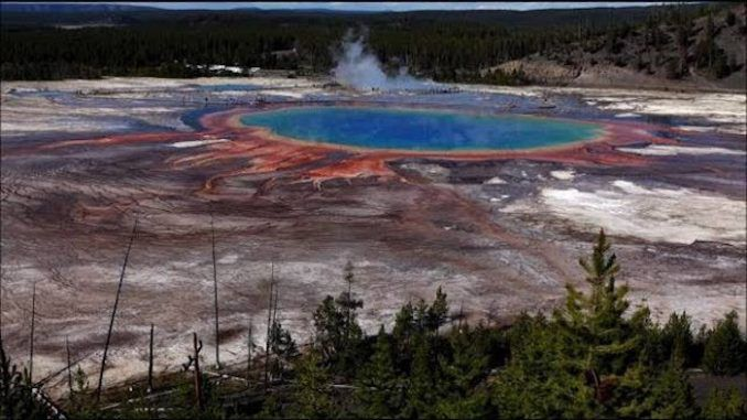 NASA promises to save humanity from dangerous yellowstone supevolcano