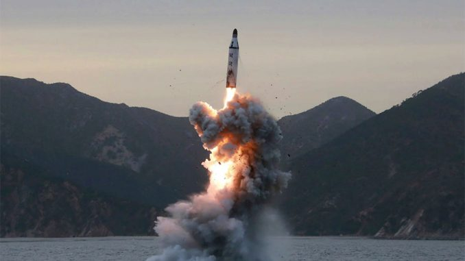 North Korea fire missile towards Japan as citizens prepare for WW3 showdown