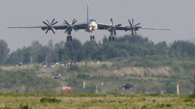 Russia deploys nuclear capable bombers towards South Korea and Japan