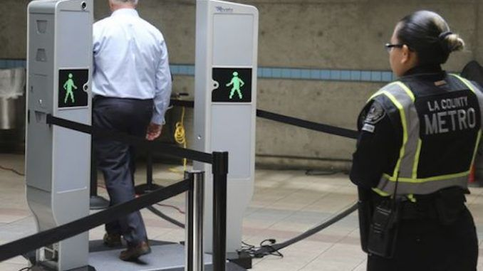 TSA body scanners being rolled out across train stations across America