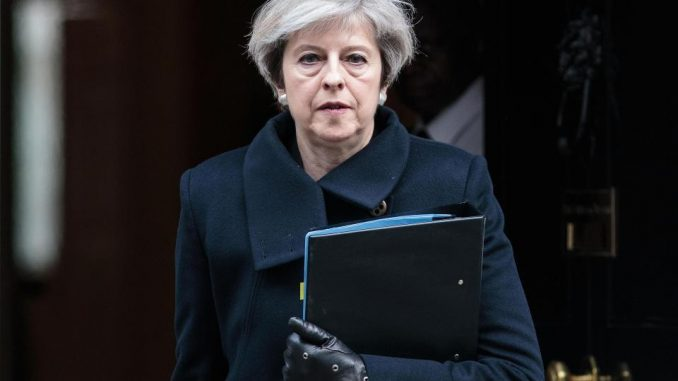 Free speech rights abolished under Theresa May's government