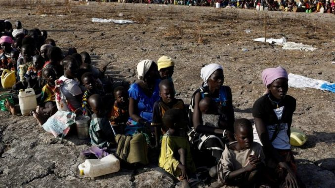 United Nations warns that the world's biggest ever famine is looming
