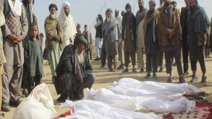 US airstrikes in Afghanistan kill women and children