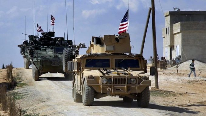 US occupation of Syria becomes official