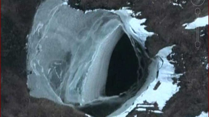 Scientists claim massive UFO is lurking beneath the ice in Antarctica