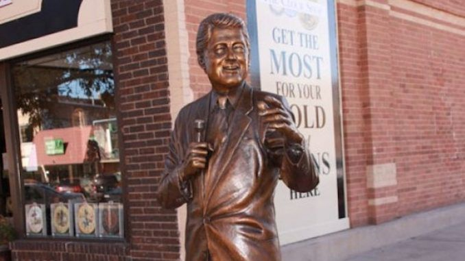 Bill Clinton rape victims demand statue removal in South Dakota