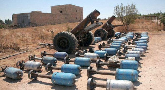 US-backed forces caught preparing to use chemical weapons in Syria