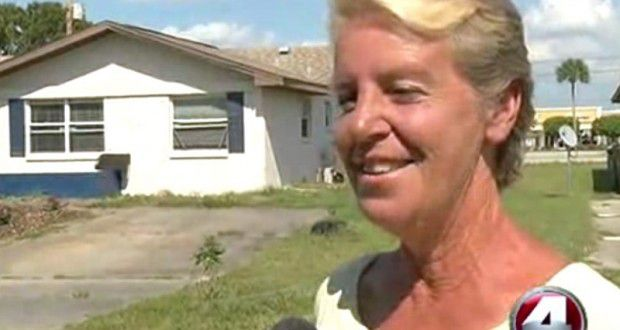 A Florida woman has been kicked out of her home for committing the crime of attempting to live off-grid.