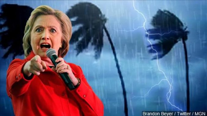 """Hurricane Matthew, the storm that left a trail of dead in Haiti and the Caribbean last year, was originally named """"Hurricane Hillary."""""""