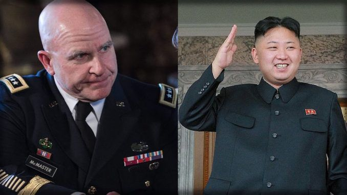 McMaster says US is prepared to launch preemptive war against North Korea