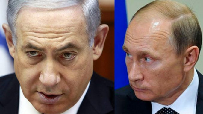 Netanyahu warns Putin that Israel will go to war with Iran unless they leave Syria