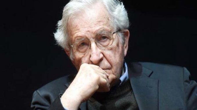 "Noam Chomsky has launched an attack on Antifa, branding the violent leftists ""self-destructive"" and ""wrong in principal."""