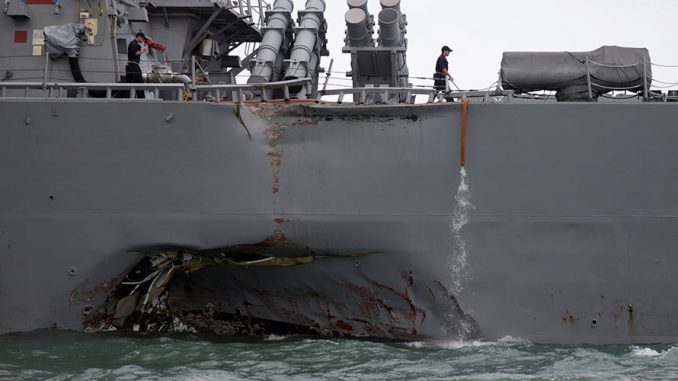 """The commander of the US navy has ordered an unprecedented worldwide """"operational pause"""" as analysts warn Chinese hackers have breached US military security."""