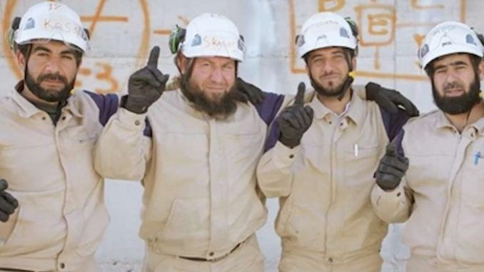 Russian forces kill White Helmets