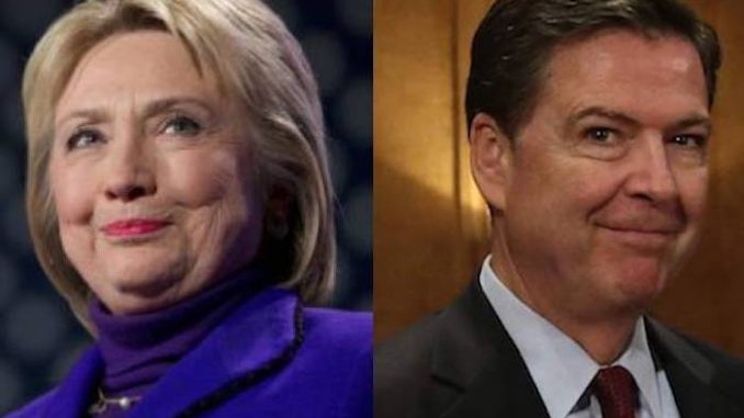President Trump accuses James Comey of rigging FBI investigation into Hillary's emails