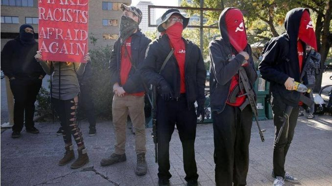 FBI label Antifa as domestic terrorist organization