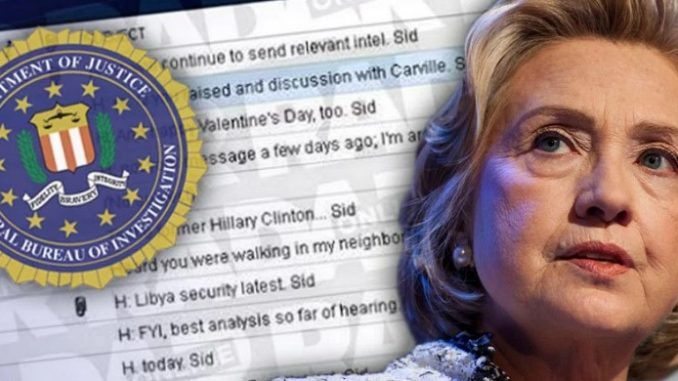 FBI cave in to public demand and offer to release Hillary Clinton email investigation documents