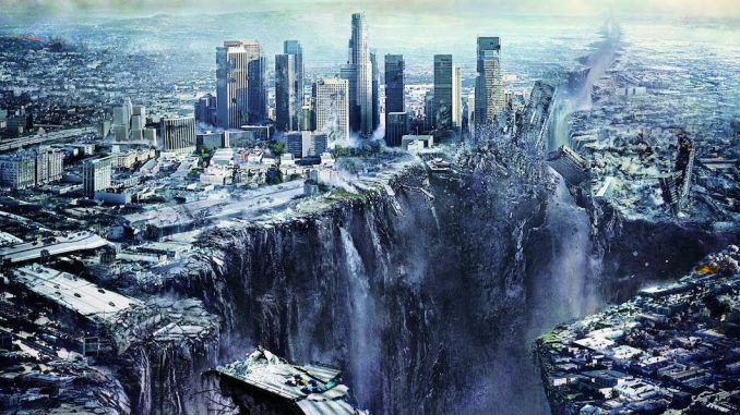 "Hollywood celebrities have fled Los Angeles after a secret warning from the elites to expect the ""big one""."