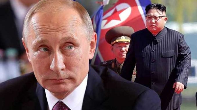 Putin warns that North Korea crisis will lead to planetary catastrophe