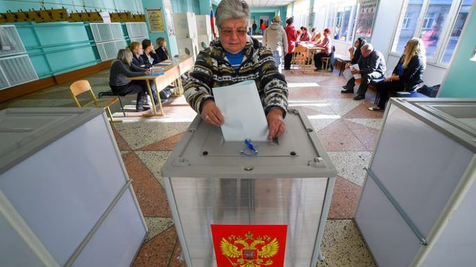 Russia say USA interfered in their regional elections