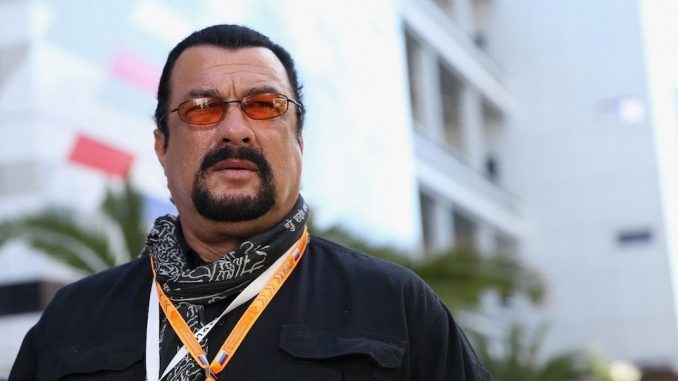 Steven Seagall says Donald Trump is kicking the New World Order's ass