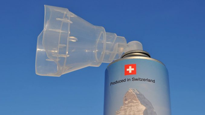 Switzerland to begin selling fresh air to the public