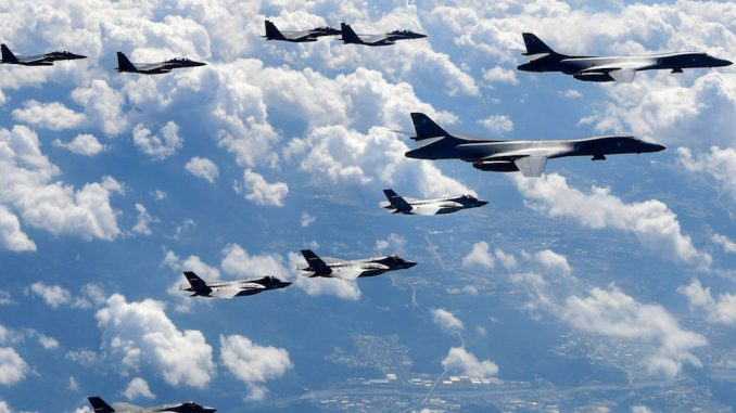 US bombers deployed to North Korea following latest nuke test