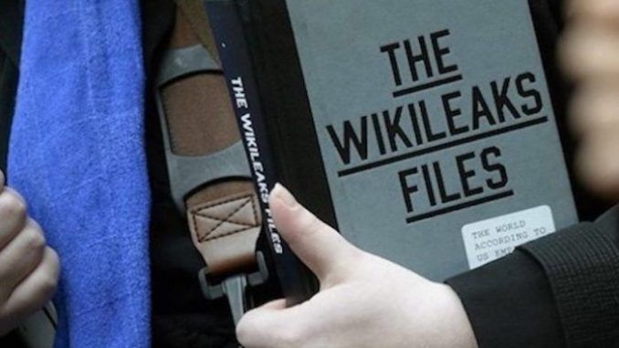 CIA documents outline plans to make reading Wikileaks a crime