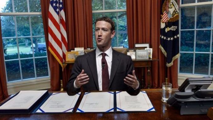Mark Zuckerberg says Facebook is more like a government than a company