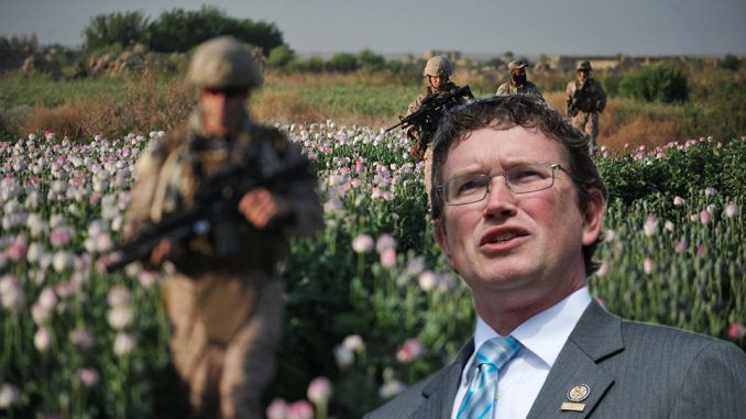 Brave Congressman reveals how CIA uses taxpayer money to fund Opium trade in Afghanistan