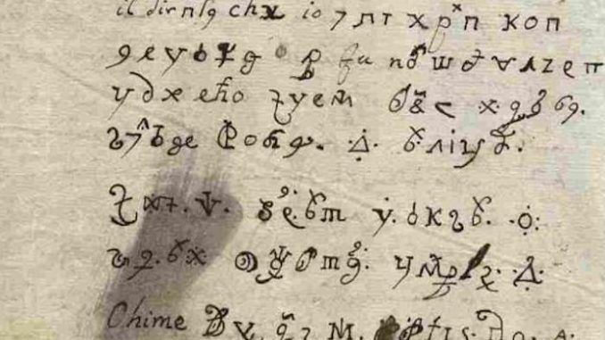 Dark web experts decrypt 17th century coded letter written by the Devil himself