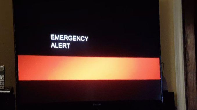 TV viewers in California interrupted with end of times emergency broadcast