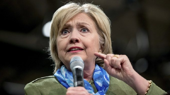 Hillary Clinton admits she fears Trump would send her to jail