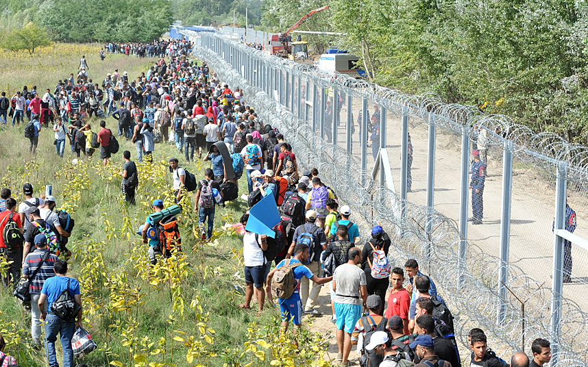 Hungary Builds Border Wall, Illegal Immigration Drops 99%