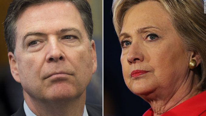 James Comey exonerated Hillary Clinton before investigation had completed